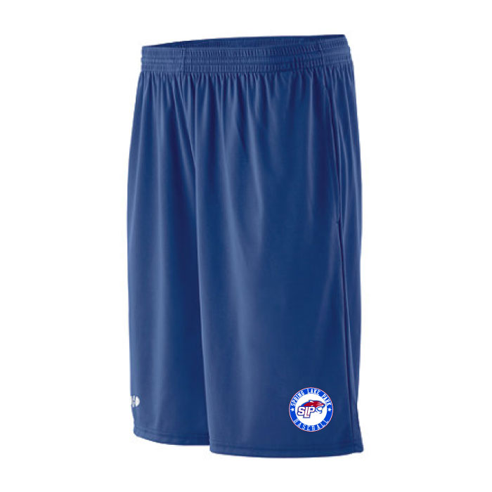 Slp baseball embroidered workout shorts