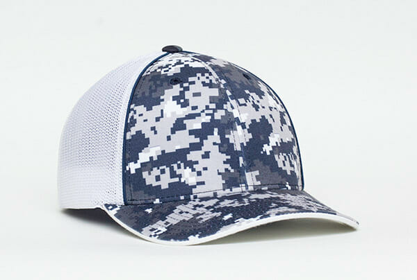 c69f78e3504ae Legacy Clay Target Team - Embroidered Baseball Cap (Navy Camo ...