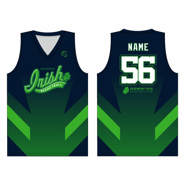 purchase cheap 2ac56 f8db3 Rosemount Basketball - Full-Dye Basketball Jersey
