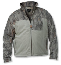 Hybrid-Fleece-Zip-Jacket