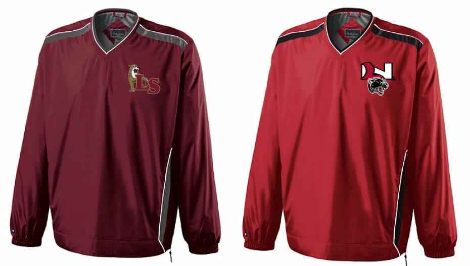 Lakeville Baseball Windbreaker Jacket | Custom Apparel Inc.