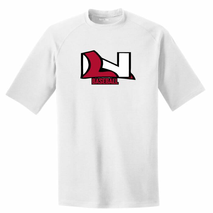 Lakeville north baseball performance t shirt custom Custom performance t shirts