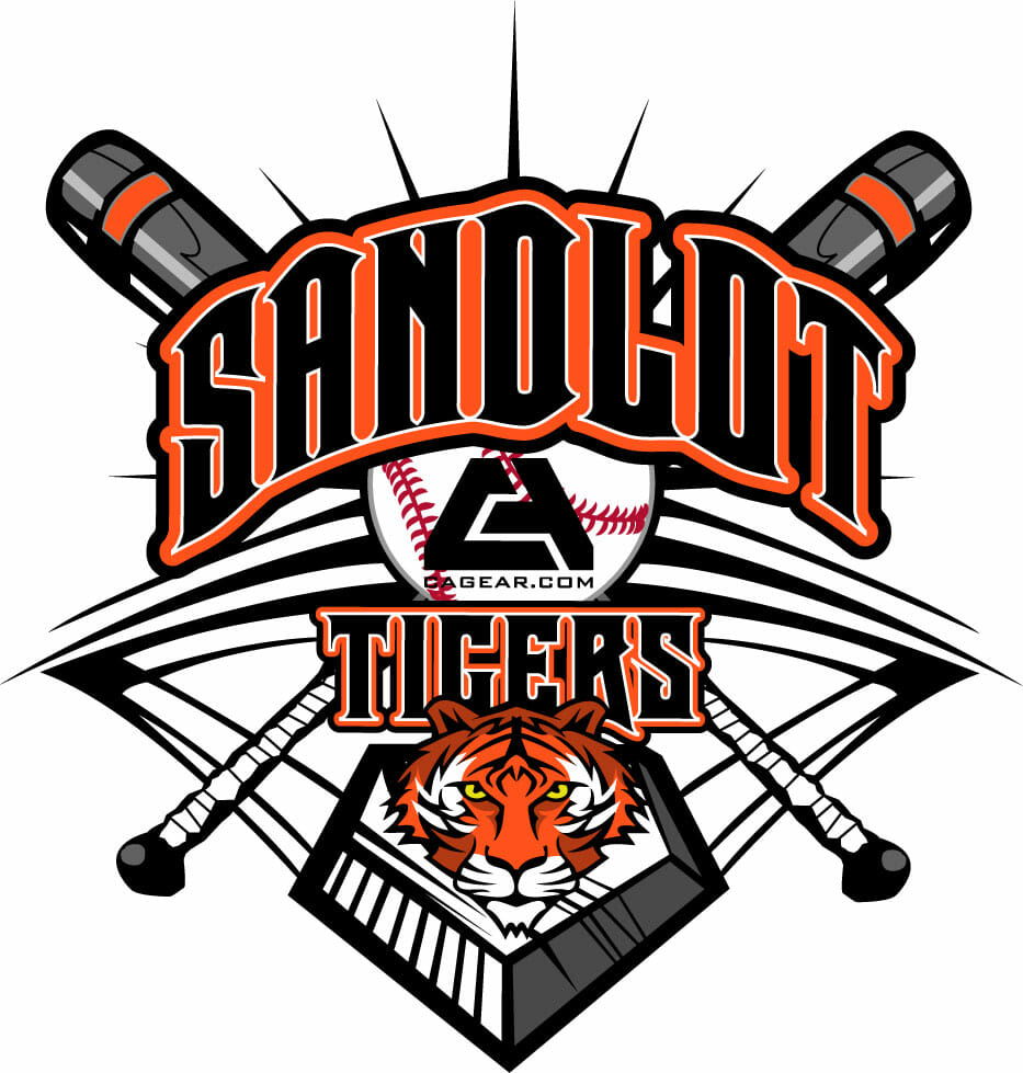 CA Sandlot Tigers Baseball