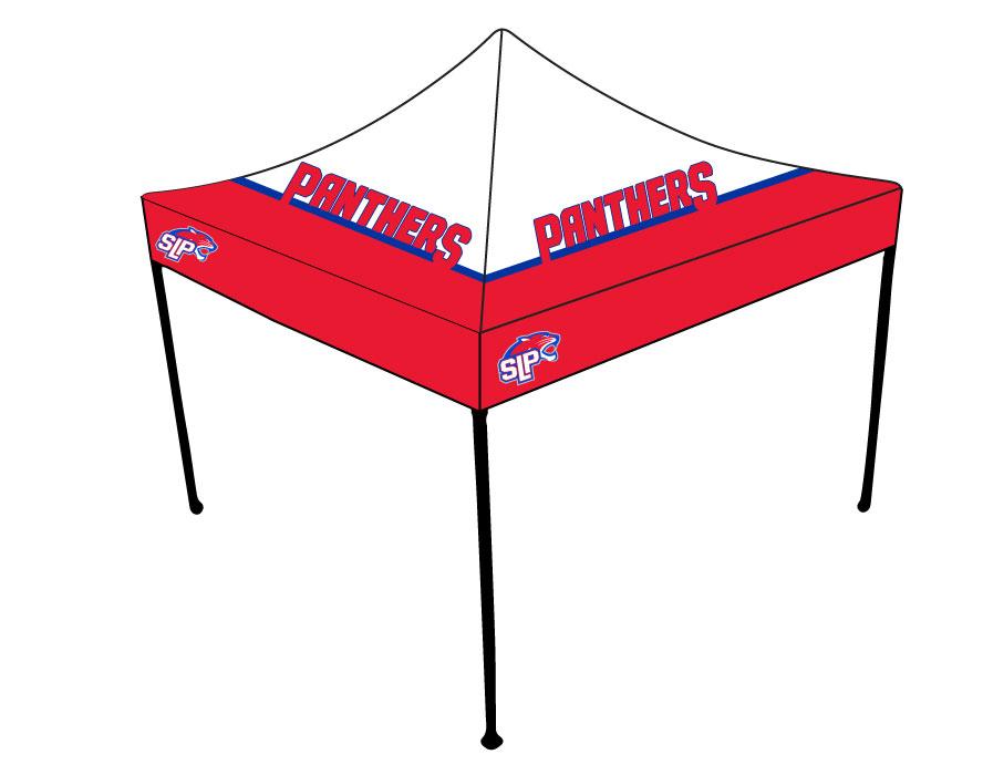 SLP Baseball u2013 Full-Dye 10×10 Tent Canopy  sc 1 st  CA GEAR & SLP Baseball - Full-Dye 10x10 Tent Canopy   Custom Apparel Inc.
