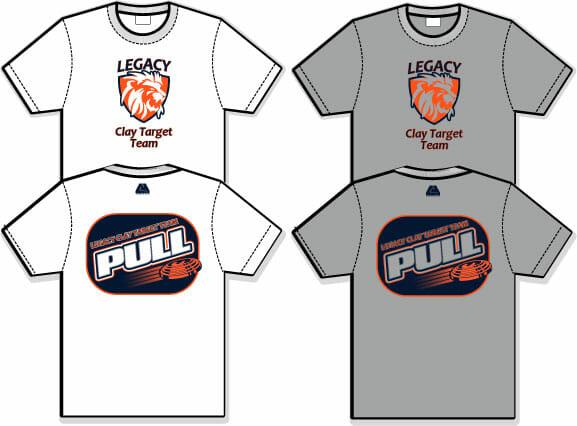 aeabef0ff35d9 Legacy Clay Target Team - Semi-Dye Performance T-Shirt